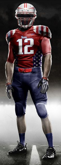 I'd be cool if New England had a uniform that they wore like this :)