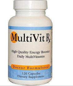 MultiVit Rx High Quality Daily Vitamins  Minerals for Men  Women 120 Capsules -- Check out this great product.
