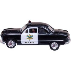 Woodland Scenics HO Scale Just Plug Vehicle, Police Car