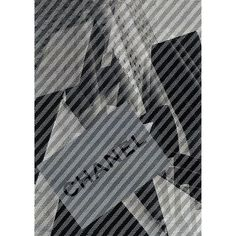 Chanel Winter 2013-14 fashion show invitation, 2nd July 2013 at the Grand Palais in Paris