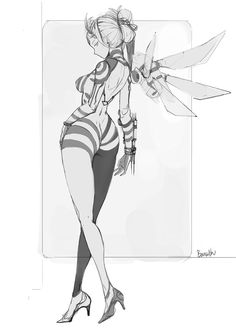 BEE, bamuth Lai on ArtStation at https://www.artstation.com/artwork/ZWL41
