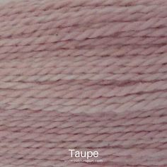 A ColourSpun Pure Cotton yarn and embroidery thread colour swatch. This colour is called Taupe Colour Swatches, Super Chunky Yarn, Fabric Yarn, Yarn Colors, Embroidery Thread, Fabric Design, Taupe, Weaving, Cotton