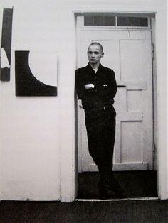 """Blinky Palermo. """"Palermo. Bilder und Zeichungen""""  Galerie Priedrich + Dahlem  Munich  1966"""