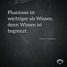 #Zitat #Phantasie #AlbertEinstein: