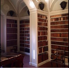 Library designed by Sir John Soane