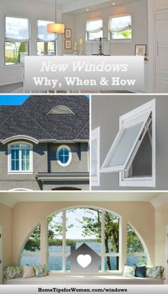 of your home's siding may be windows. So when replacing windows, you need to consider curb appeal, natural sunlight, great views & energy efficiency, Window Replacement, House Siding, Home Hacks, Energy Efficiency, Great View, Curb Appeal, Home Improvement, Around The Worlds, Windows