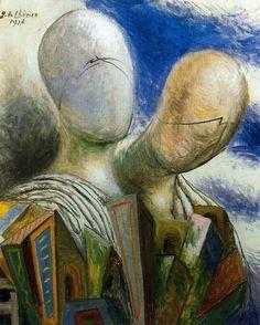 Giorgio De Chirico (1888 - 1978) Spouses (1926)