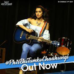 Phir Bhi Tumko Chaahungi Official Video Song - Half Girlfriend   Arjun Kapoor, Shraddha Kapoor   Voice of Shraddha Kapoor   Movie Releasing on 19th May 2017. #PhirBhiTumkoChaahungi #ArjunKapoor #ShraddhaKapoor #HalfGirlfriend #MohitSuri #Mithoon #BalajiMotionPictures #ZeeMusicCompany