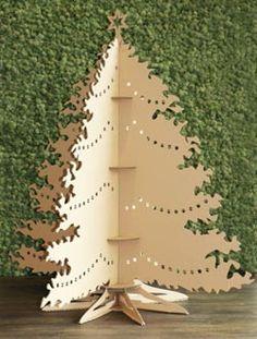 Découpe laser sapin de Noël