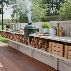 Awesoem outdoor kitchen idea – ideea for summer time