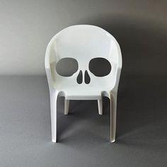 cadeira caveira