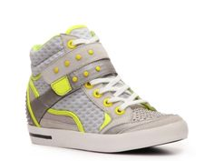 Out of my element but I kinda like these. Mix No. 6 Naples Wedge Sneaker