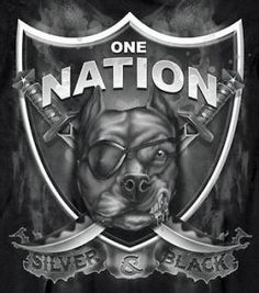 raiders nation skull