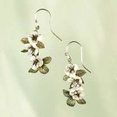 Michael Michaud Jewelry - Silvery Phacelia Earrings - Dangle