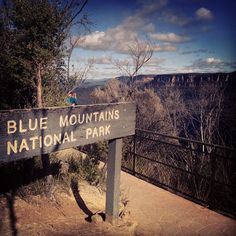 Blue Mountains National Park in Katoomba, NSW