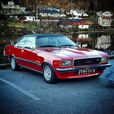 Opel Commodore B GS/E Coupe One of the forgotten classics! Big 6 cylinder coupe, capable of effortless performance. The Opel Commodore (B) has lots of the classic … Ford Capri, Bmw Classic, Classic Motors, Retro Cars, Cars And Motorcycles, Chevrolet, Antique Cars, Model Car, Alloy Wheel