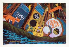 """The Secret Set"" Triptych by James Flames by VGKIDS Screen Printing, via Behance"