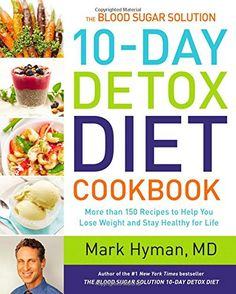 The companion cookbook to Dr. Mark Hyman's revolutionary weight-loss program, the #1 New York Times bestseller The Blood Sugar Solution 10-Day Detox Diet, with more than 150 recipes for immediate results! Dr. Hyman's bestselling The Blood Sugar Solution 10-Day Detox Diet offered readers a step-by-step guide for losing weight and reversing disease. Now Dr. Hyman shares more than 150 delicious recipes that support the 10-Day Detox Diet, so you can continue on your path to good health. With…