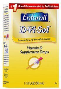 Amazon.com: Enfamil D-Vi-Sol Vitamin D Supplement Drops, 50 mL (Pack of 3): Health & Personal Care