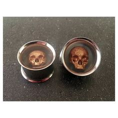 Moon Picture Plugs gauges 16g, 14g, 12g, 10g, 8g, 6g, 4g, 2g, 0g, 00g, 1/2, 9/16, 5/8, 3/4, 7/8, 1 inch STYLE 2 found on Polyvore featuring polyvore and jewelry