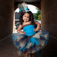 Peacock Tutu at the Shopping Mall, $32.00  Check out Little Miss Thang on Facebook