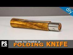 How to make a Folding Knife - YouTube