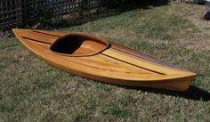 Little Auk 10 Kayak Kit: Ultra-light Strip-built Recreational Kayak by Nick Schade