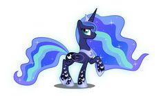 Princess Luna Rainbow Power by xebck on DeviantArt