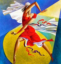 Artist Georgy Kurasov, the painter, the sculptor Cubist Artists, Cubism Art, Contemporary Abstract Art, Modern Art, Photografy Art, Francis Picabia, Dance Paintings, Illustration Art, Illustrations