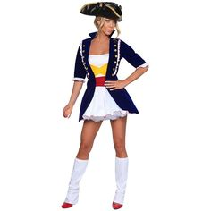 pirate captain woman costume httpwwwgirlielingeriecompirate captain woman costumehtml sexy woman costumes pinterest woman costumes costumes - Pirate Halloween Costumes Women