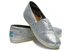 Toms glitter shoes - for a more casual New Year's Eve? Maybe in Portland? (Ha.)