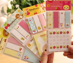 New-Wholesale-20sets-lot-Cute-bear-Sticky-font-b-Memo-b-font-Pad-4-lovely-font.jpg (580×508)