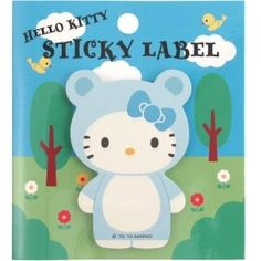 Hello Kitty Sticky Notes: Kitten KT