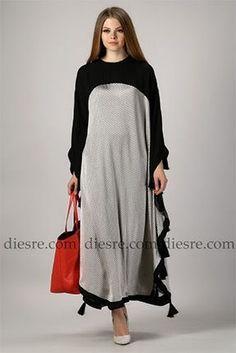 abaya17 Modesty Fashion, Abaya Fashion, Muslim Fashion, Indian Fashion, Fashion Dresses, Dubai Fashion, Mode Abaya, Mode Hijab, Abaya Designs