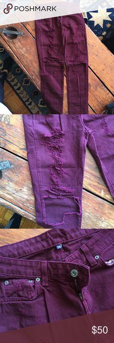 Lf boyfriend car mar denim LF store car mar boyfriend distressed jeans. Only worn a couple times. In great condition! LF Jeans Boyfriend