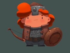 Little Warrior on Behance