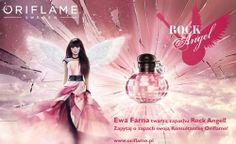 Polskie gwiazdy w reklamach perfum - Ewa Farna Oriflame Rock Angel