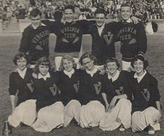 Cheerleading Virginia Tech 1952