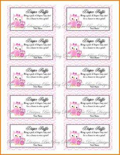 10 best free printable raffle ticket template images on pinterest