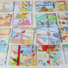 Little envelope file folders by Hello Sand.