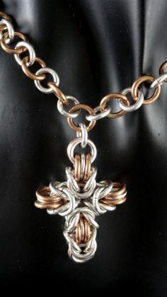 Byzantine cross - NOT A TUTORIAL - JUST AN IDEA