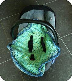 Het Thuisproject: Babydekentje voor in het autostoeltje