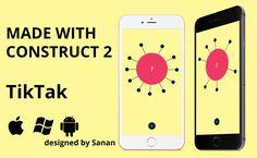 TikTak - HTML5 game. Construct 2 (.capx) + ADS - http://codeholder.net/item/html5/tiktak-html5-game-construct-2-capx-ads