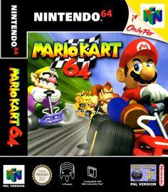Mario Kart 64 for the Nintendo 64