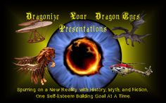 The cover and Slogan for the Dragonize Your Dragon Eyes Presentations web page.