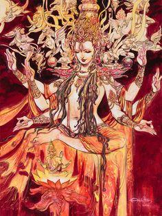 Adi Shakti Goddess P