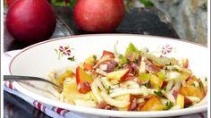 Salade estivale de nectarines au fenouil et jambon cru