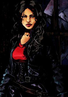 My WoD Elizabeth by Laveir.deviantart.com on @DeviantArt
