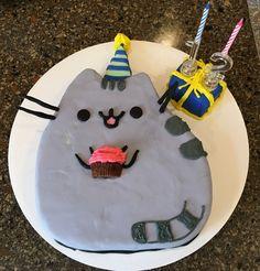 Pusheen cake for Tyler ❤