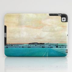 blue field iPad Case by Claudia Drossert - $60.00
